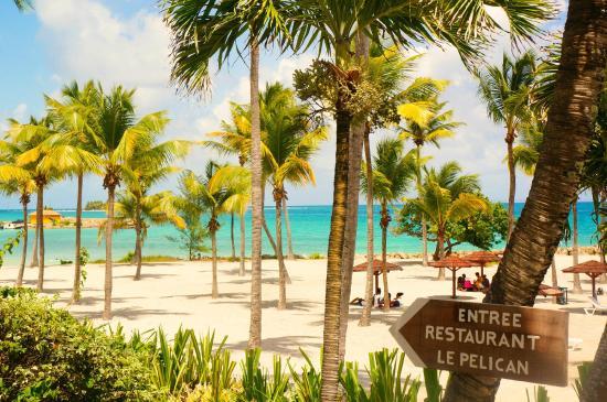 Plage de Desahies pour un voyage Guadeloupe demi pension