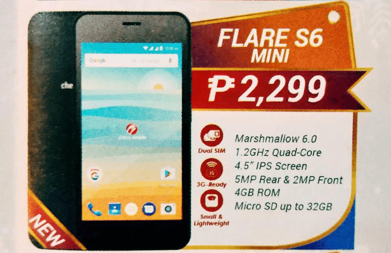 Cherry Mobile Flare S6 Mini