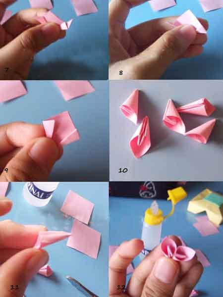 Cara Membuat Origami Bunga Sakura Yang Cantik