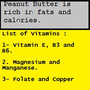 Peanut-Butter-Vitamins-Minerals