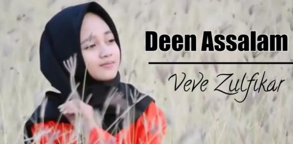 Download Lagu Veve Zulfikar - Deen Assalam Mp3 Cover Religi Terbaru 2018,Veve Zulfikar, Lagu Religi, Lagu Cover, 2018