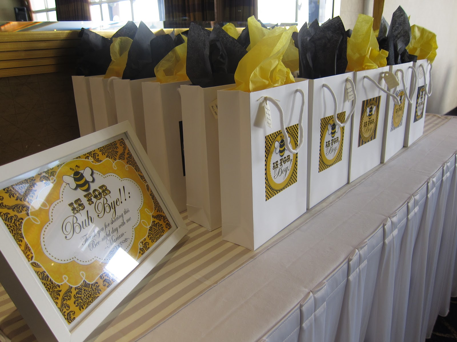 Mimis Bumble Bee Baby Shower