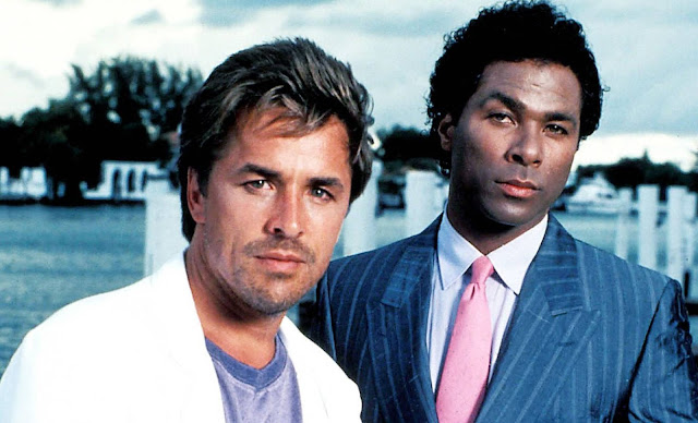 Don Johnson y Philip Michael Thomas (Corrupción en Miami)
