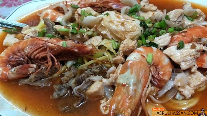 Mee Bandung Udang Restoran Dayang Parit Buntar