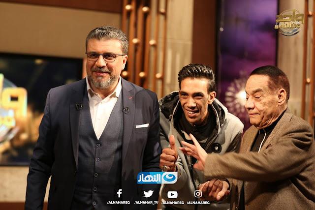 تردد قناة النهارد الناقلة للقاء مجدي شطة وحلمي بكر