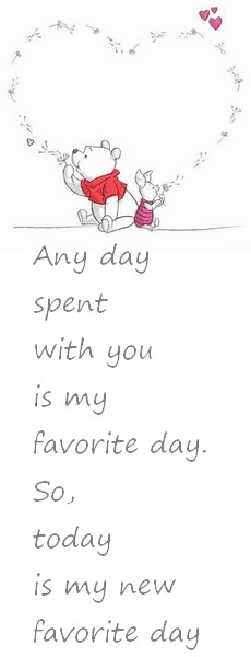 Any  day  spent with you
