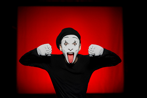 kujerruksia: Lavalta: Dark Side Of The Mime (Teatteri Takomo/Circus Maximus)