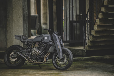"MT-07 ""Street Fighter"" by Rough Crafts"