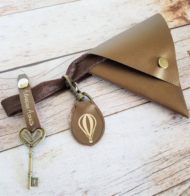 DIY Leather Keychain