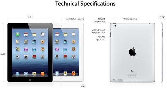 new-ipad-spesifications