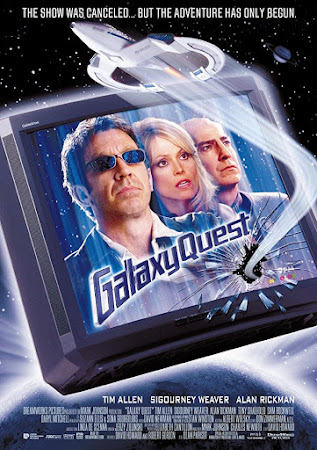 Poster Of Galaxy Quest In Dual Audio Hindi English 300MB Compressed Small Size Pc Movie Free Download Only At worldfree4u.com