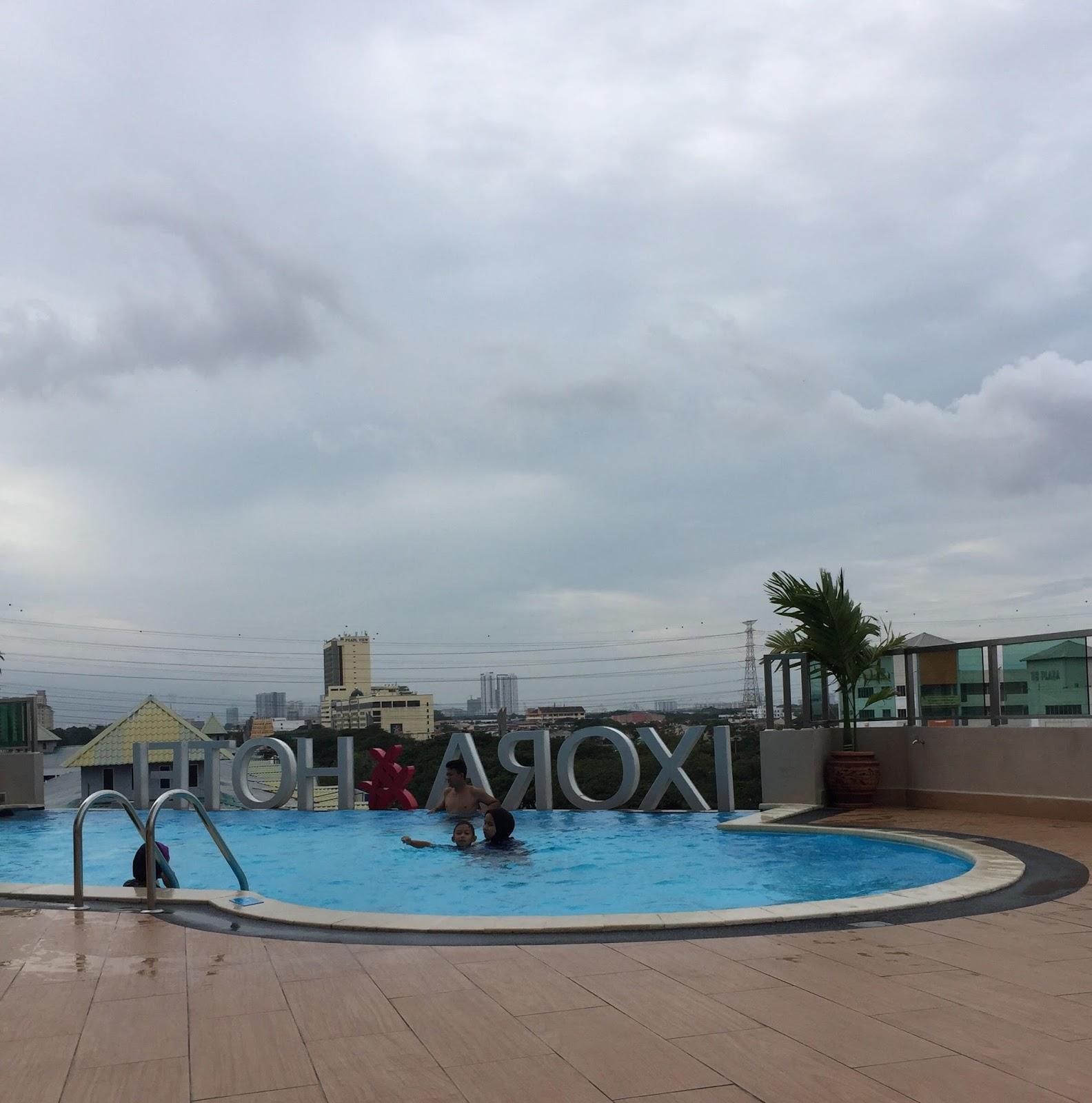easy access hotel, penginapan menarik, ixora hotel Penang, percutian keluarga, Pulau Pinang