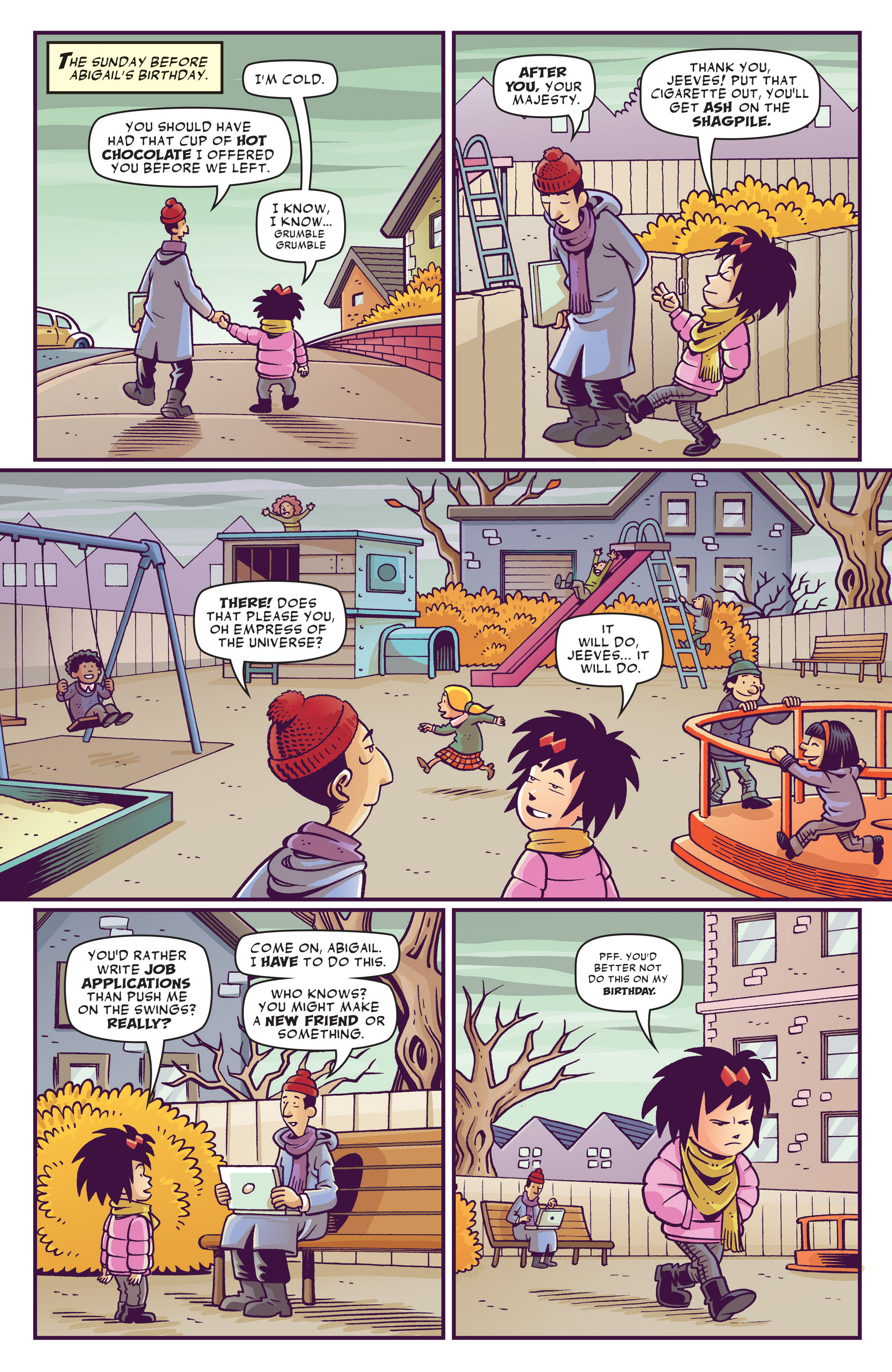 Read online Abigail And The Snowman comic -  Issue #1 - 11