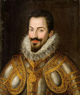 A portrait of Charles Emmanuel I by the Dutch Renaissance painter Jan Kraeck