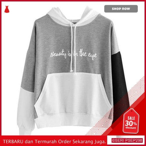 ION535 Sweater Hoodie BEAUTY IS IN THE EYE Wanita | BMGShop