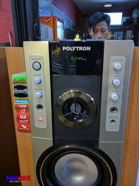 Speaker Aktif Polytron PAS 79,Fitur Komplit Desain Oke