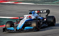 Williams Racing F1 Robert Kubica testy