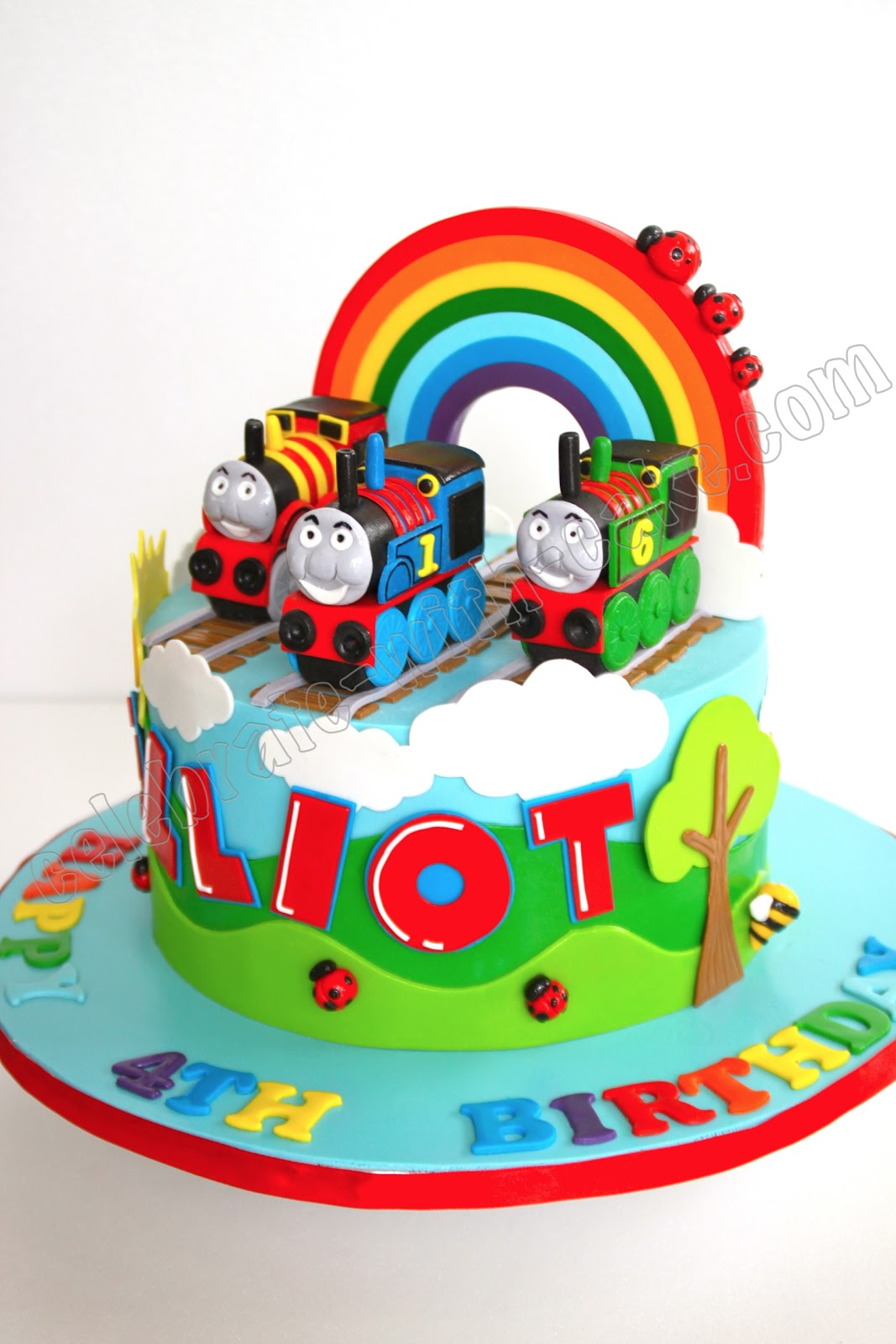 Thomas The Tank Engine Cake - Free Next Day Delivery – New ...