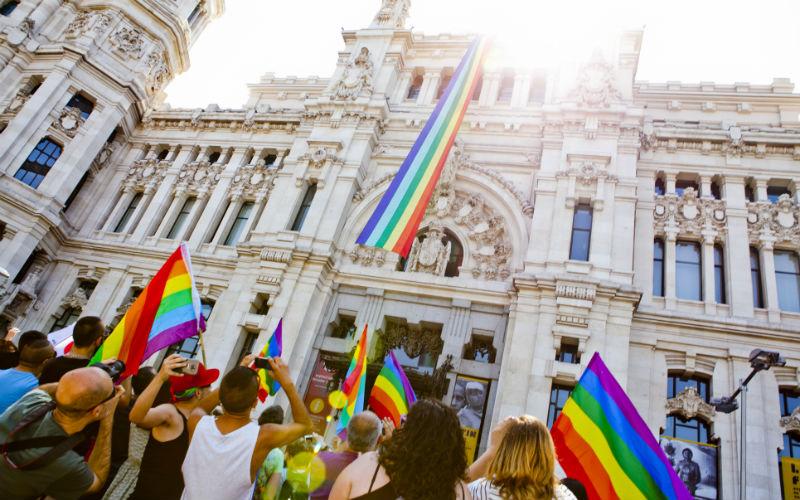 madrid orgullo gay en el ayuntamiento