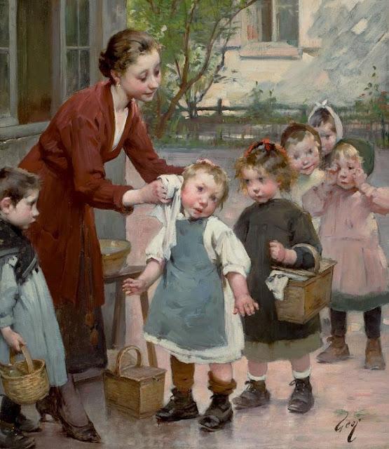 старинный детский сад