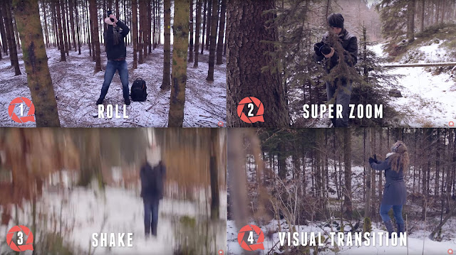 Camera Transitions: 5 Creative Movements