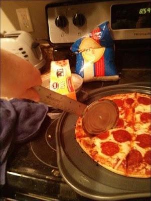 Roulette à pizza simple à réaliser