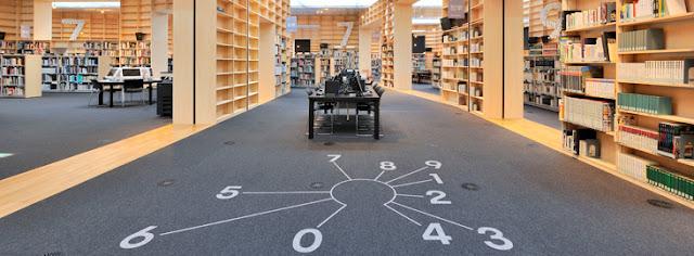 建築家が設計した本を読みたくなる、ステキな図書館6選 武蔵野美術大学図書館 藤本壮介