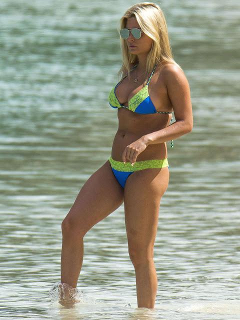 Zara Holland – Bikini Candids in Barbados