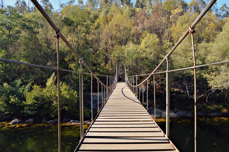 Planes al aire libre puente colgante de soutomaior