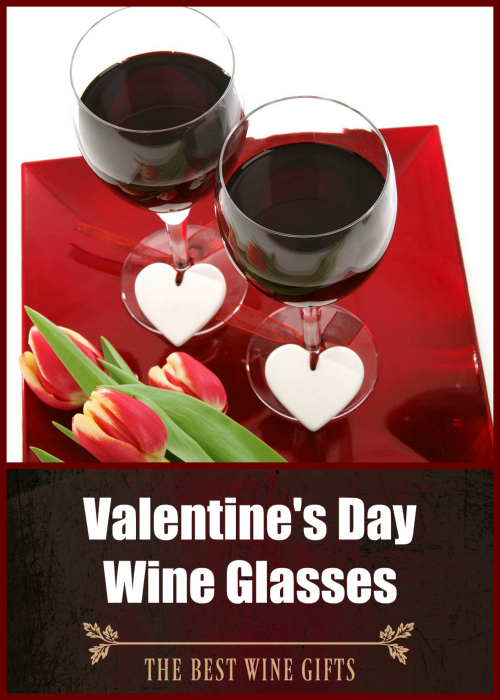 Valentine's Day Wine Glasses