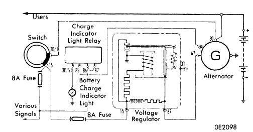 Diagram Alternator wiring diagram lucas Diagram Schematic Circuit
