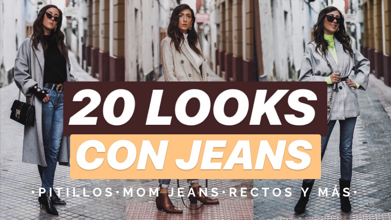 20 looks con jeans