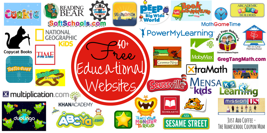 40+ Free Educational Websites! Let The Learning Begin ...