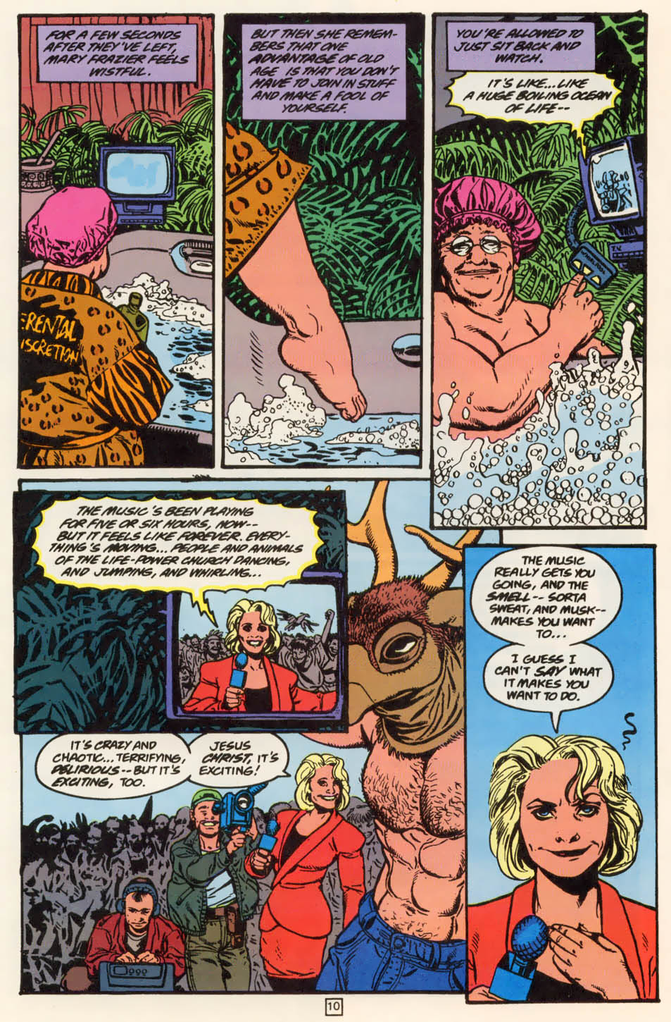 Read online Animal Man (1988) comic -  Issue #79 - 10