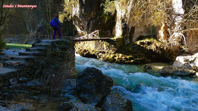 Cerrada Elías con río Borosa, Pontones, Sierra de Cazorla, Jaén, Andalucía