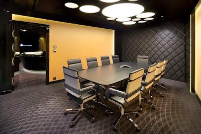 Mẫu thiết kế nội thất phòng họp cho không gian nhỏ