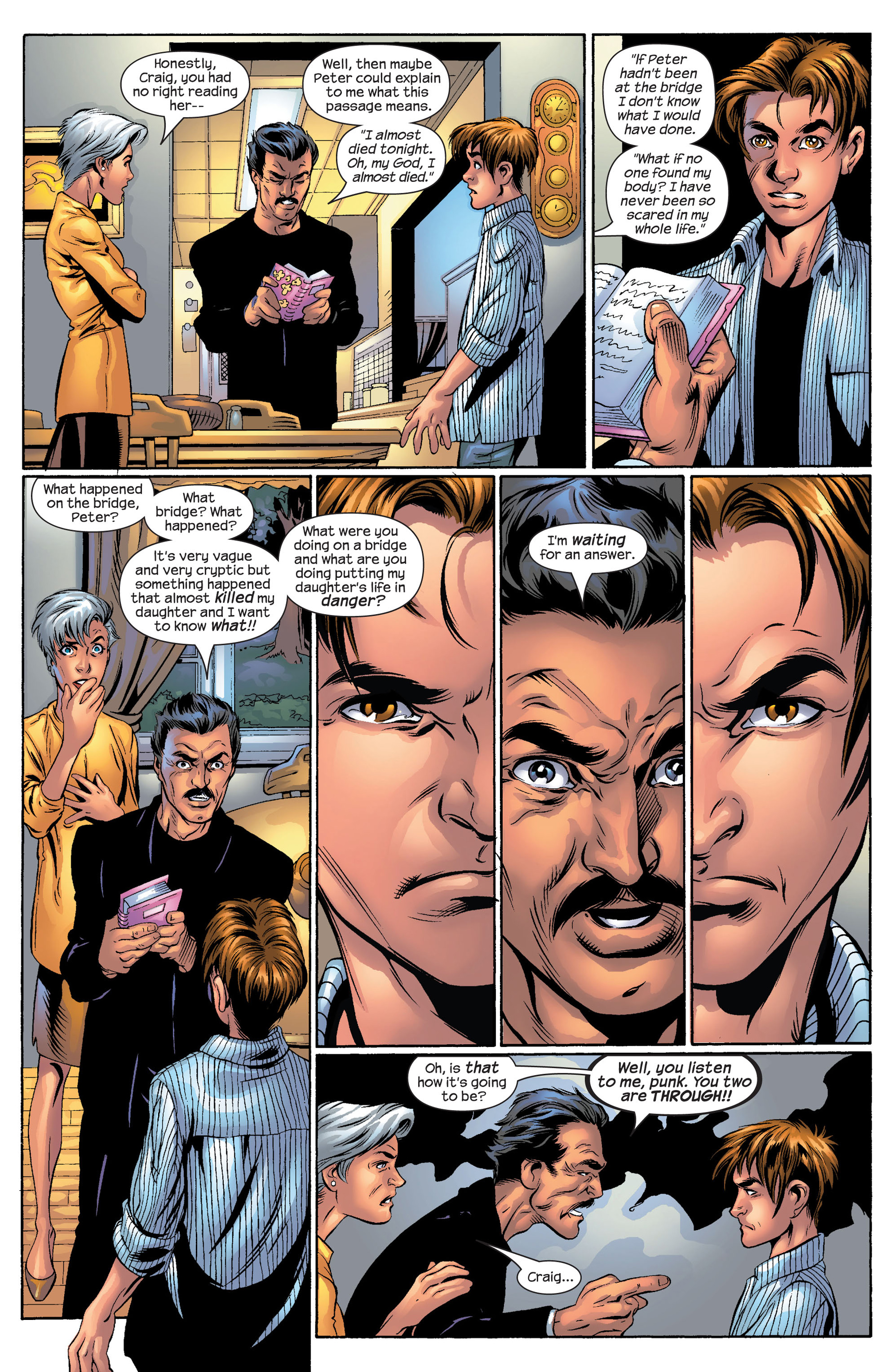 Read online Ultimate Spider-Man (2000) comic -  Issue #50 - 31