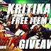 Kritika Online Free Item Codes Giveaway
