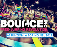 bounce italia assume a torino
