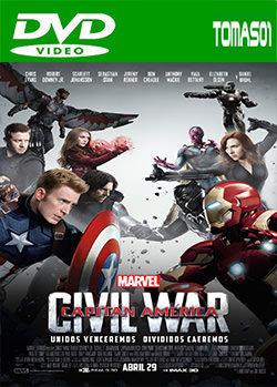 Capitán América: Civil War (2016) DVDRip