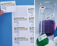 Wasserlösliche Etiketten finden Einsatz in Forschung, Klinik und Labor
