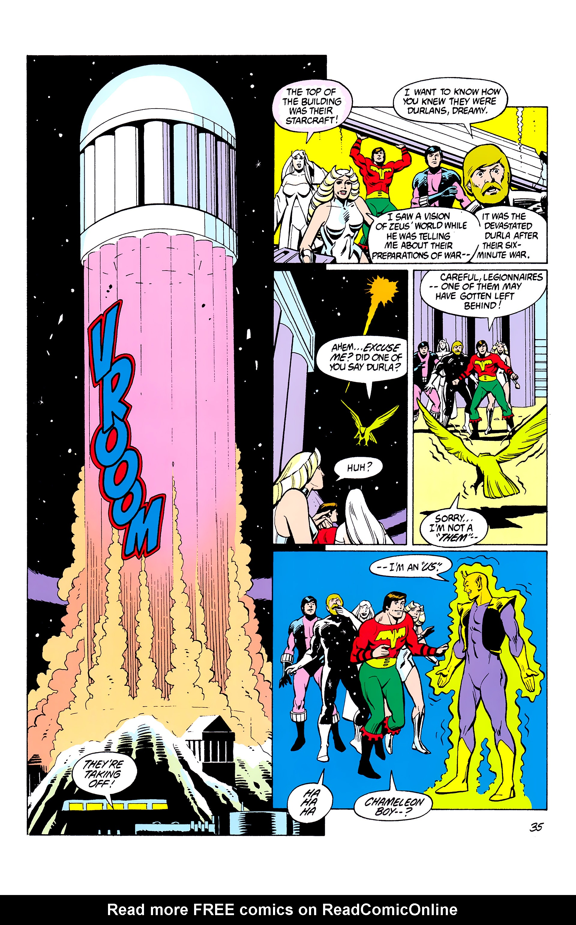 Legion of Super-Heroes (1980) _Annual_2 Page 35