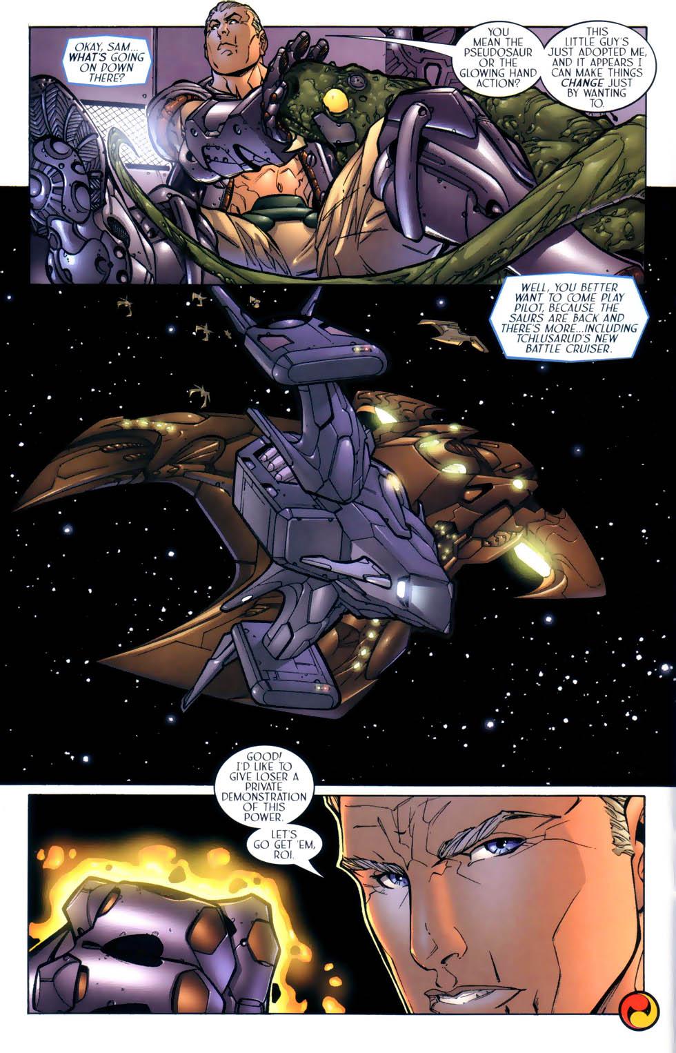 Read online Sigil (2000) comic -  Issue #2 - 23