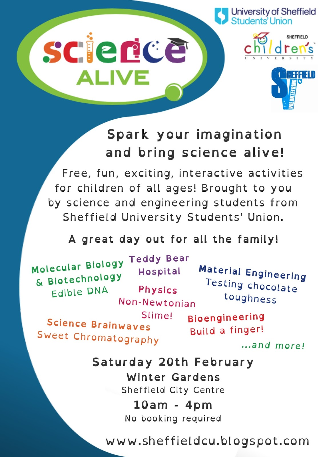 sheffield children u0027s university bringing science alive in the
