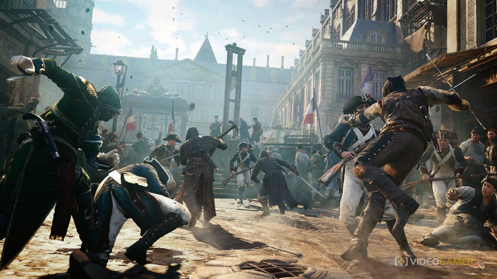 Blog Wallpaper Game Dan Komputer Assassin S Creed Unity Wallpaper