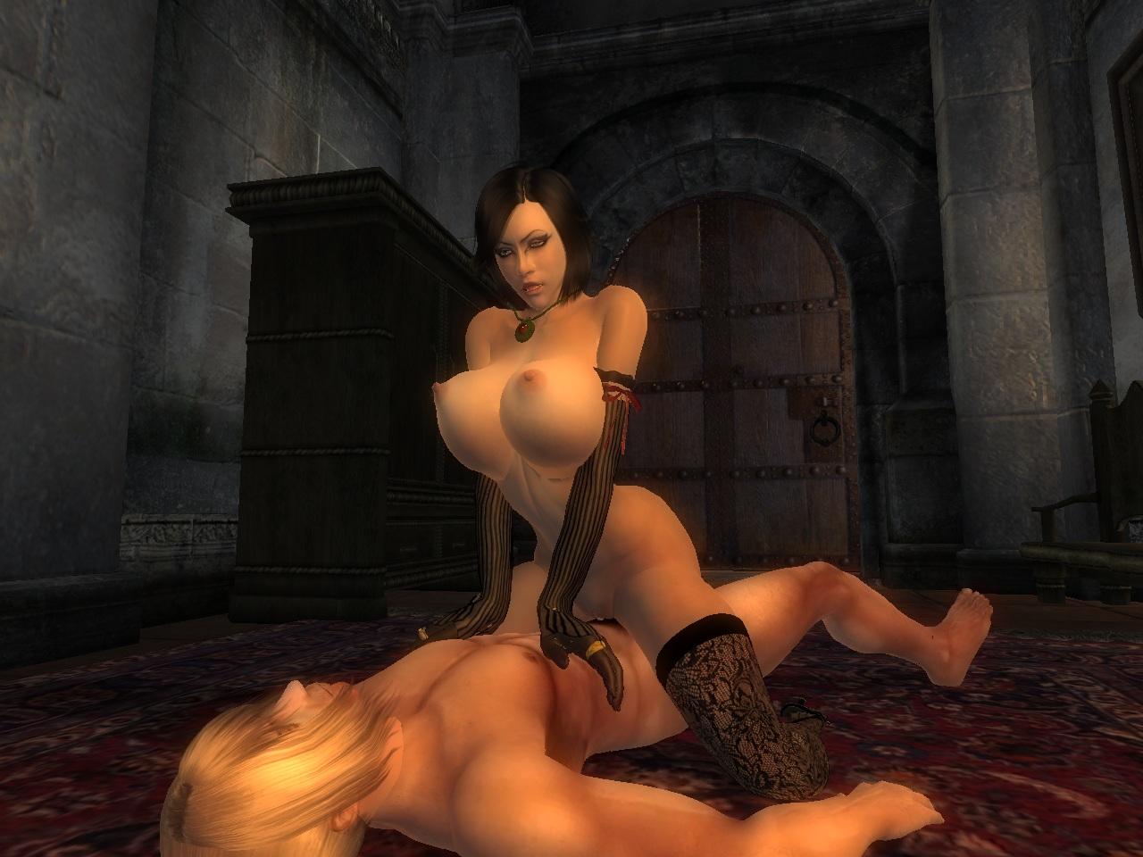 Oblivion nude skin mods
