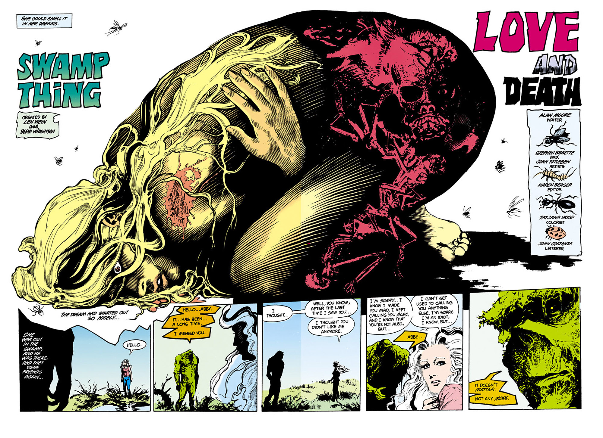 Swamp Thing (1982) Issue #29 #37 - English 3