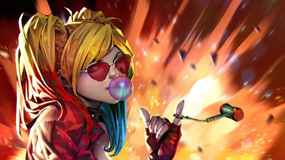 Harley Quinn, DC, Comics, Art, 4K, #6.2090