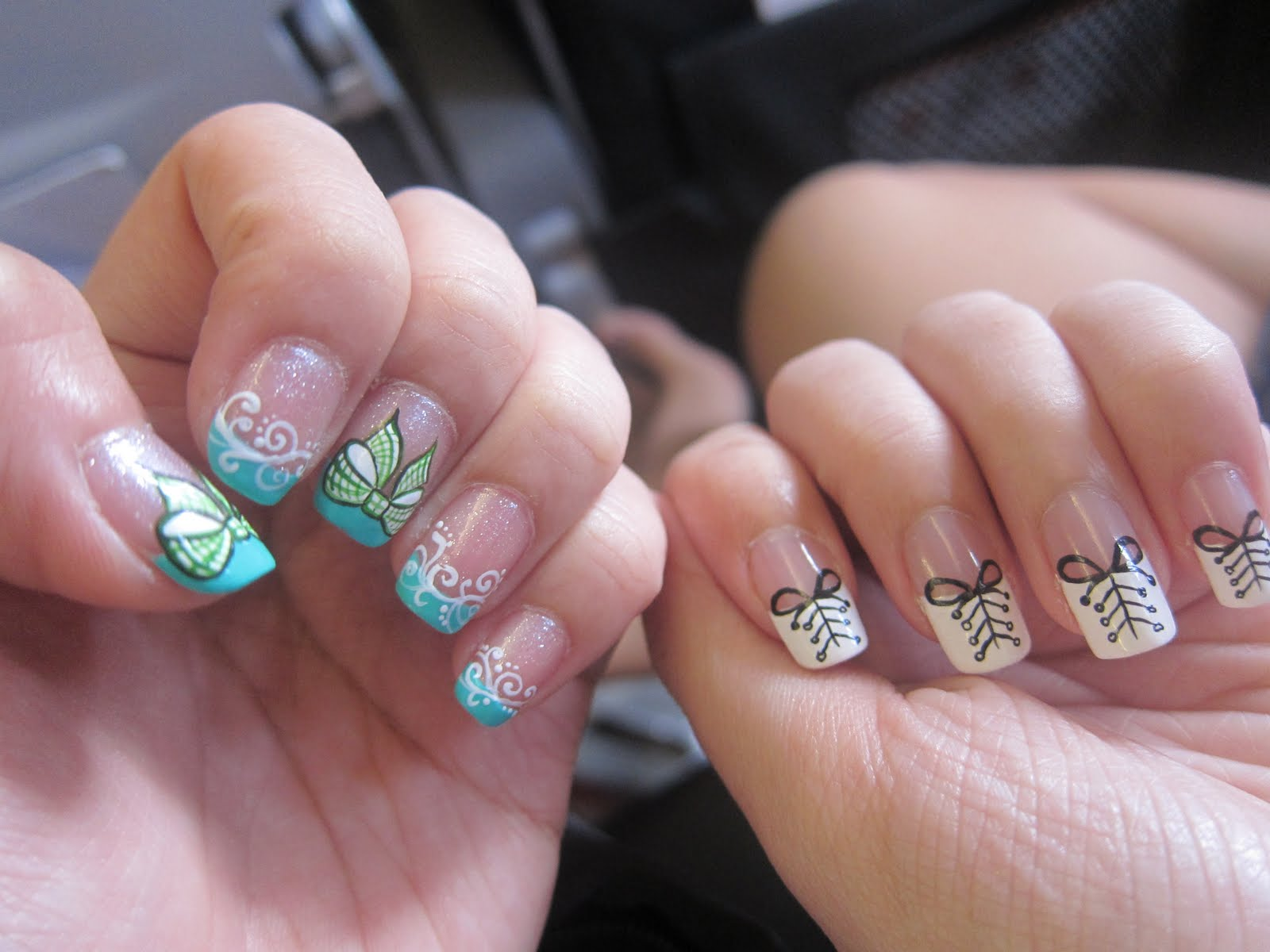 Its all about hui jun: #60 pretty nails