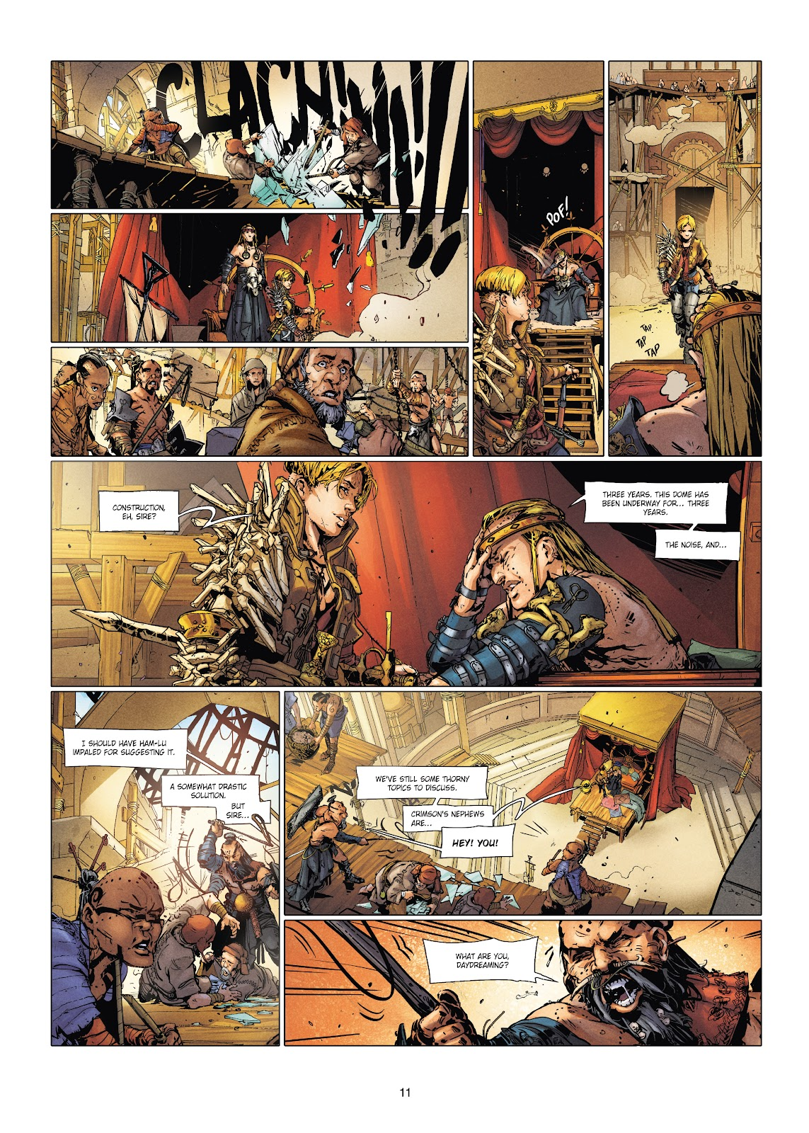 Read online Chronicles of the Dragon Knights comic -  Issue #20 - 11